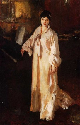 Image: Judith Gautier as painted in 1885 by J.S.Sargent