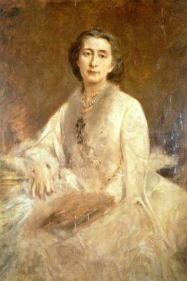 Portrait of Cosima Wagner