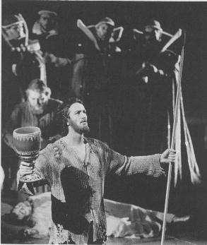 Poul Elming as Parsifal