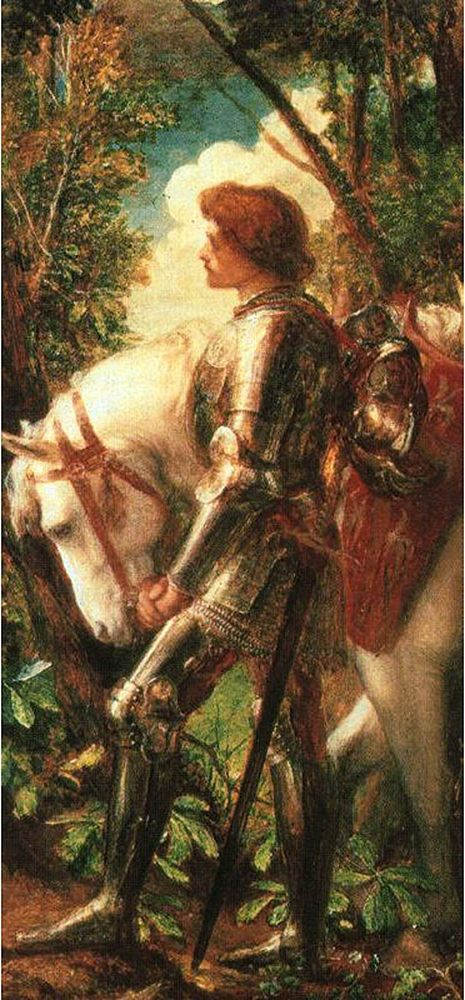 Image: Sir Galahad, by G.F. Watts