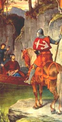 Parzival (or Peredur) meets the Fisher King