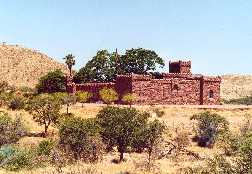 Castle in the wilderness - Schloss Duwisib, Namibia