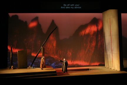 Image: End of Act II in the Seattle production