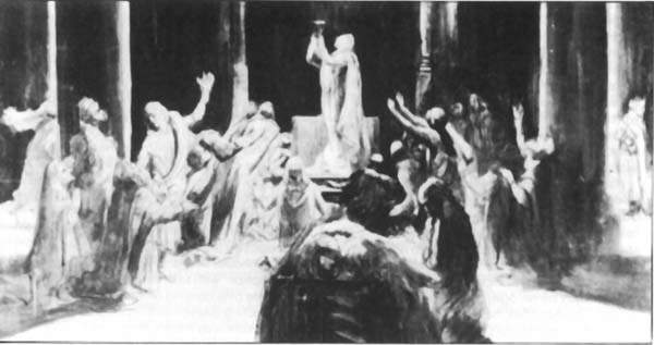 Closing scene of Parsifal