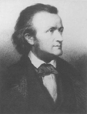 Portrait of Richard Wagner, about 1860